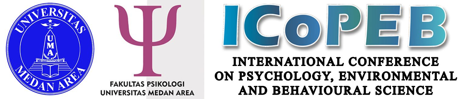 INTERNATIONAL CONFERENCE ON PSYCHOLOGY, ENVIRONMENTAL, AND BEHAVIOR